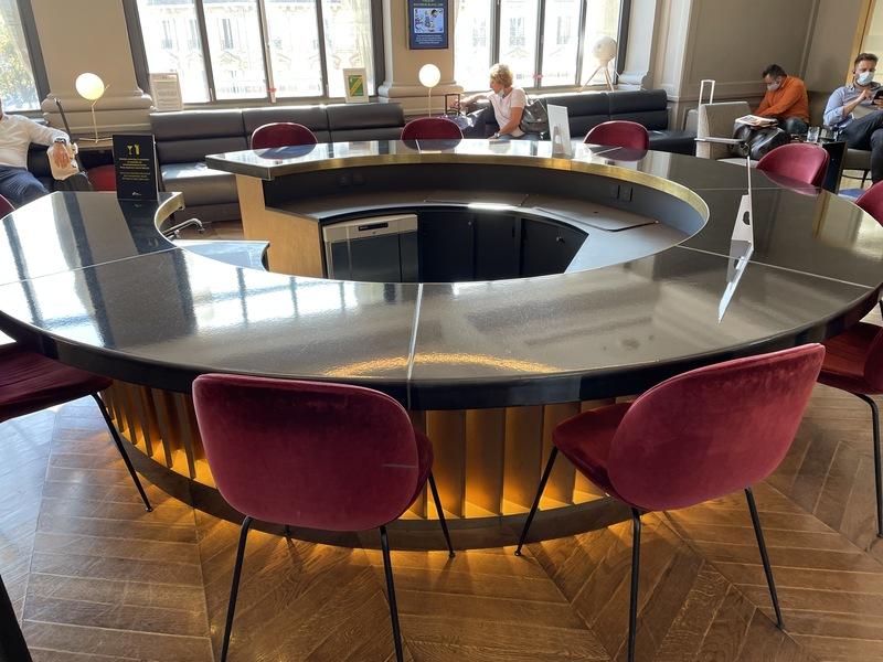 Review: the Eurostar Business Premier Lounge in Paris Gare du Nord station
