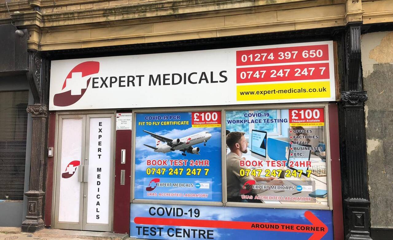 Expert Medicals removed from UK approved covid test list