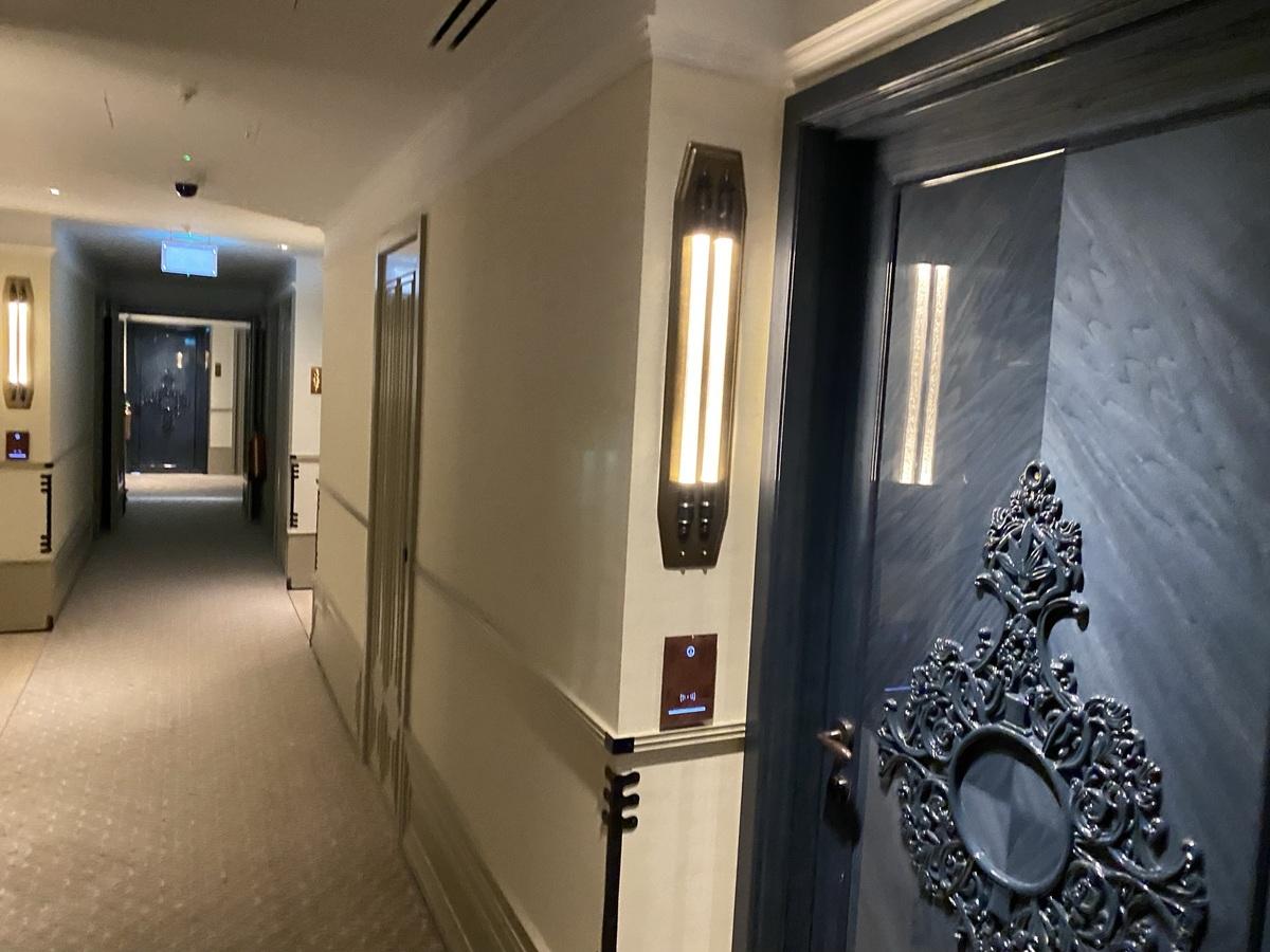 Great Scotland Yard Hotel door