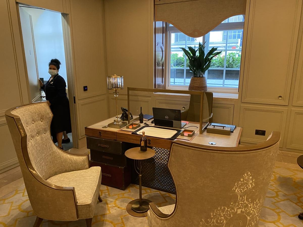 Great Scotland Yard Hotel reception