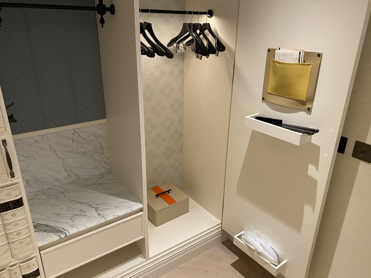 Great Scotland Yard Hotel wardrobe