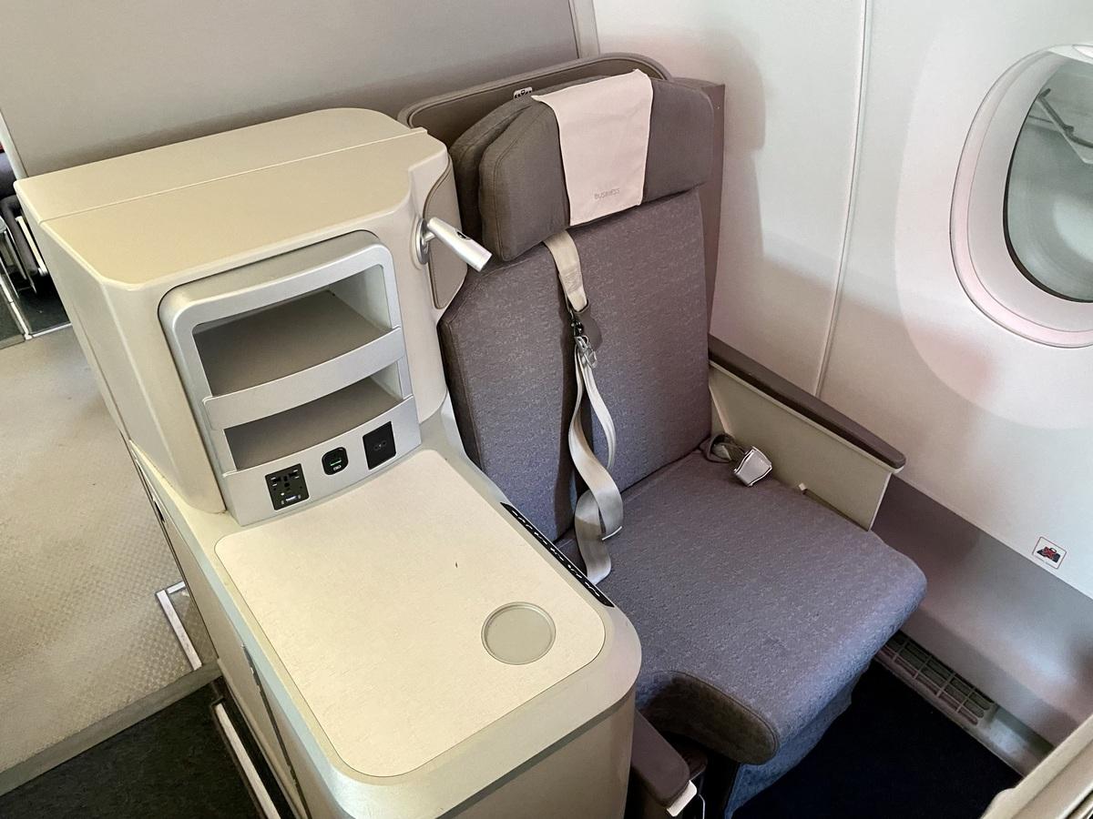 Iberia A350 business class window seat
