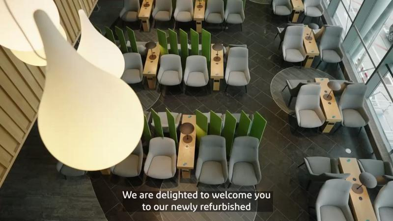 New Aer Lingus lounge Dublin