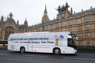 Three Brexit Bus