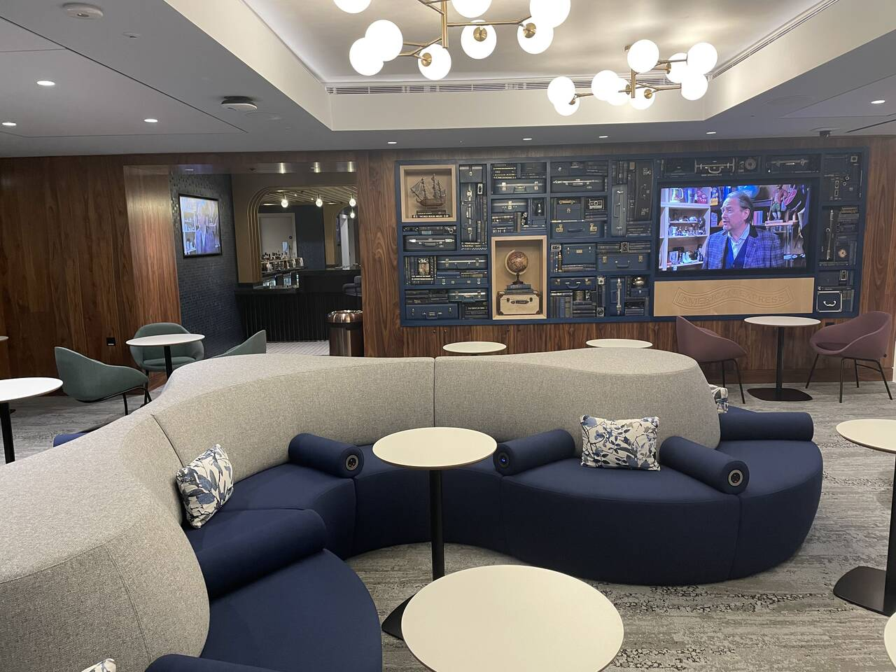 American Express Centurion Lounge Heathrow Airport London
