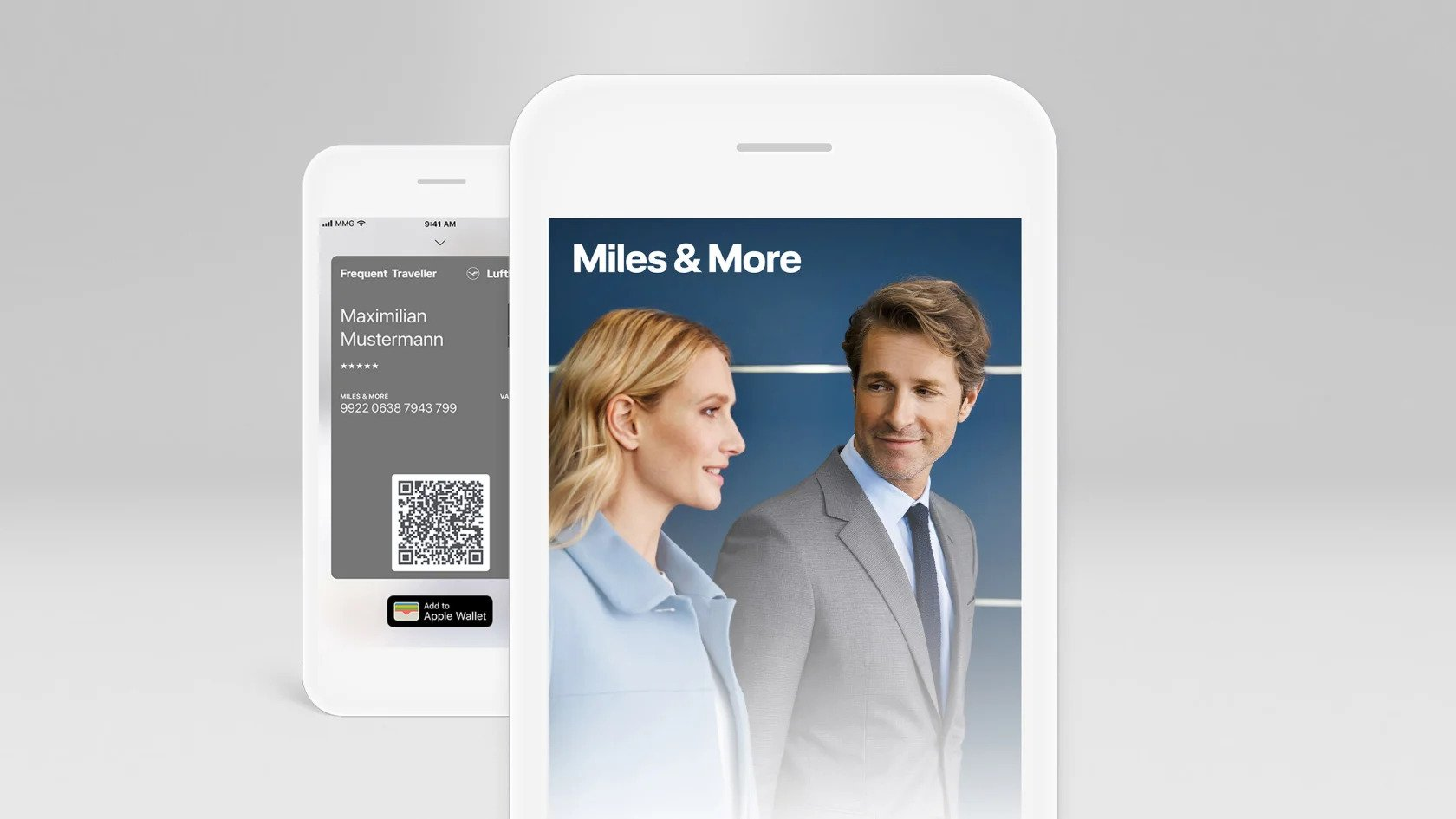 500 free miles with Lufthansa Miles and More app