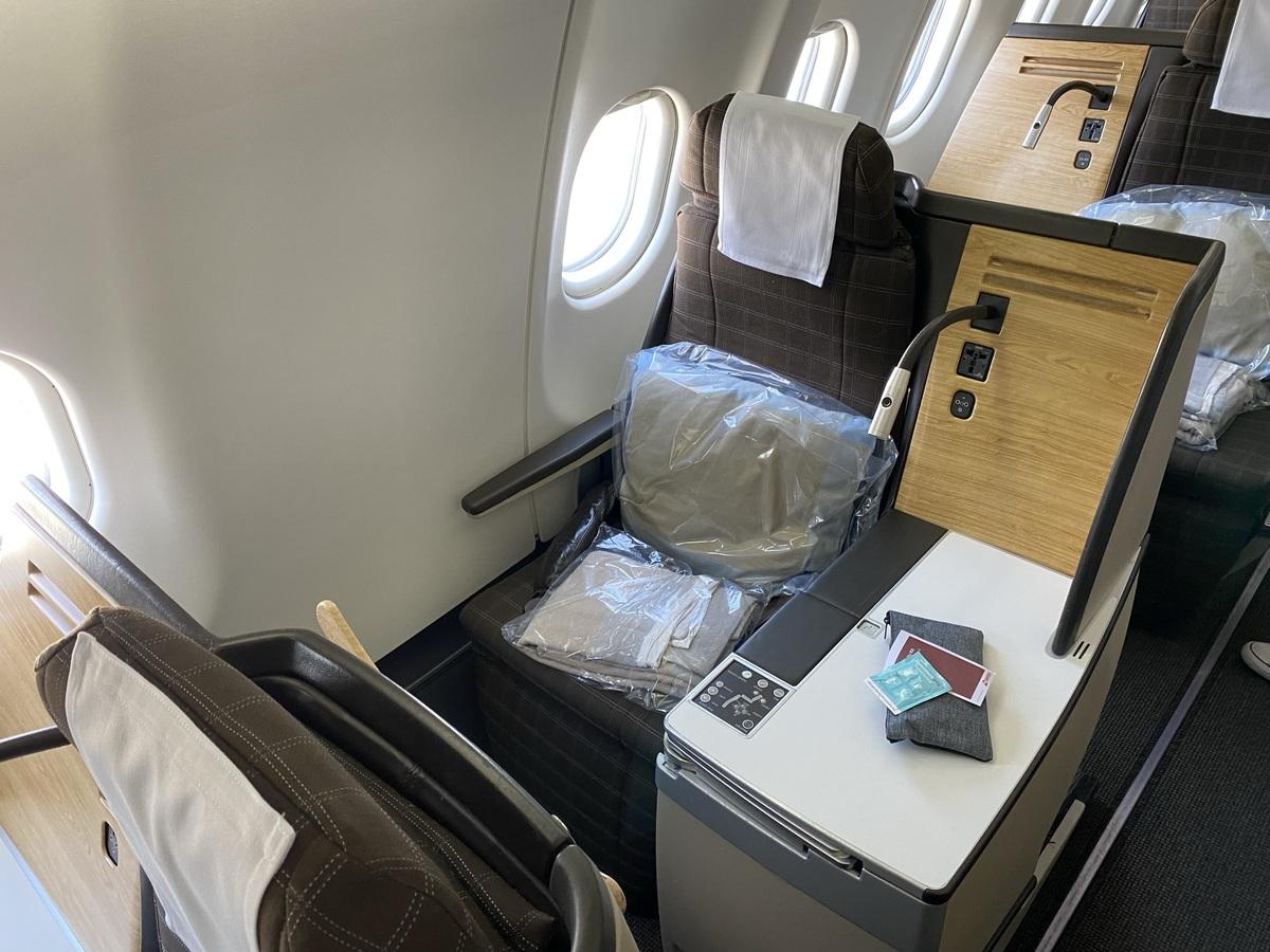 SWISS A330 9K business class seat